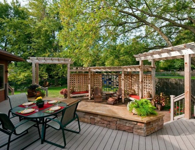18 Traditional Deck Designs for Gorgeous House Retreat