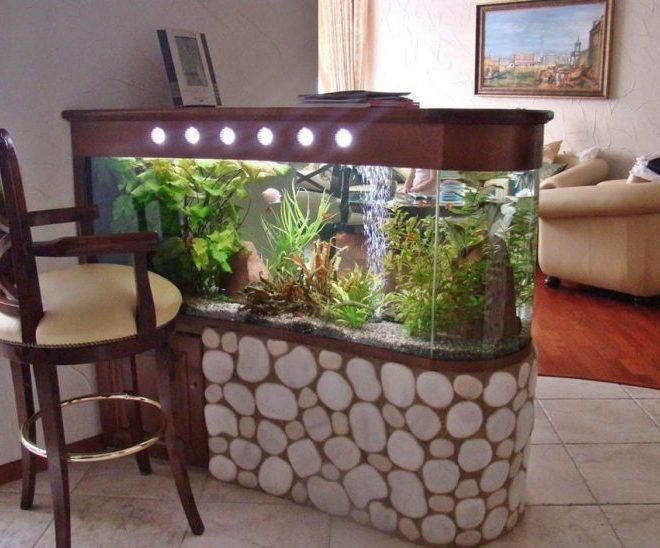Beautiful fish tank ideas for Relaxing home