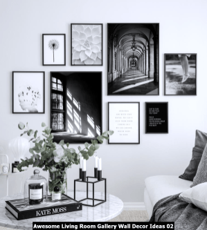 Awesome-Living-Room-Gallery-Wall-Decor-Ideas-02