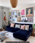 Awesome-Living-Room-Gallery-Wall-Decor-Ideas-22