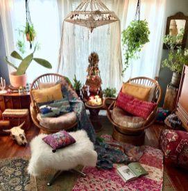 Beautiful-Bohemian-Sunroom-Decorating-Ideas-20
