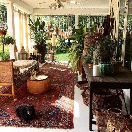 Beautiful-Bohemian-Sunroom-Decorating-Ideas-35