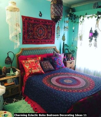 Charming-Eclectic-Boho-Bedroom-Decorating-Ideas-11