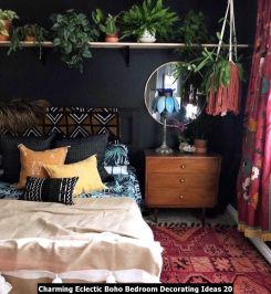 Charming-Eclectic-Boho-Bedroom-Decorating-Ideas-20