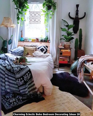 Charming-Eclectic-Boho-Bedroom-Decorating-Ideas-28