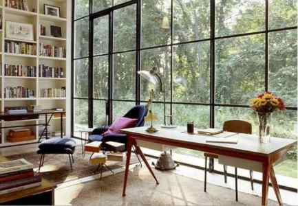 workspace-floor-to-ceiling-bookcase