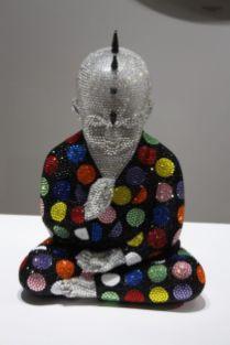 Aldo-Castillo-bling-buddha-with-polka-dots