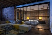 An-open-space-with-glass-partitions-black-frames