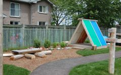 Backyard-Playground-made-from-Old-doors