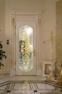 Entryway-glass-door-featuring-a-baroque-style-marble-on-floor