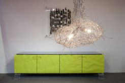 Green-sidecabinet-with-eye-catching-lighting