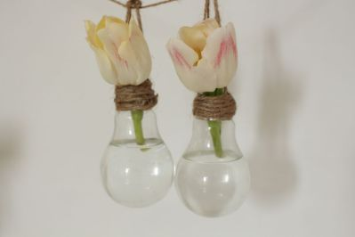 Hanging-Vase-from-a-Light-Bulb