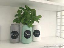 Herb-garden-soda-cans