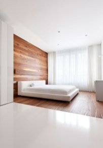Minimalist-bedroom-with-wall-paneling