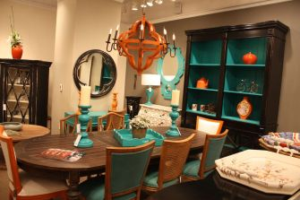 Mixture-of-chairs-in-turquoise