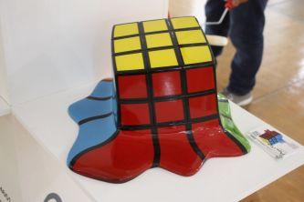 Polito-melting-rubiks-cube