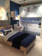 Teenage-boy-room-in-blue-tone