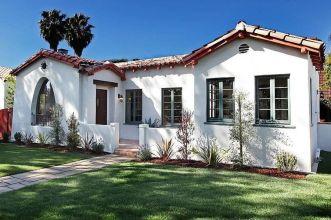 White-Spanish-house-exterior