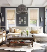 gray-color-scheme-living-room-cowhide-rug