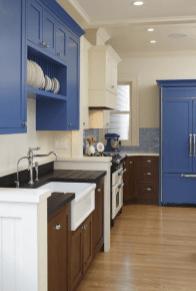 Bold-Blue-colors-kitchen-paint-ideas