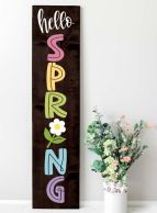 a-dark-stained-wooden-plaque-sign-with-colorful-letters-and-a-bloom-is-a-simple-and-cool-idea-for-spring