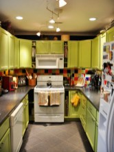 colorful-lime-green-kitchen