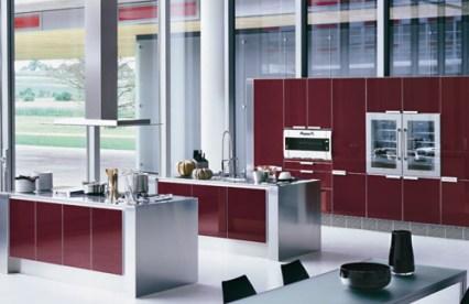 deep-red-kitchen