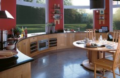 neutral-kitchen-with-red-highlights