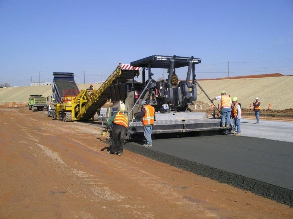 Roller compacted concrete (Rapid International)