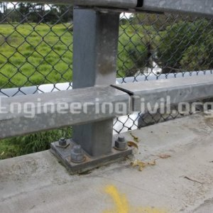 Bridge Post and Rail Barrier - EngineeringCivil.org