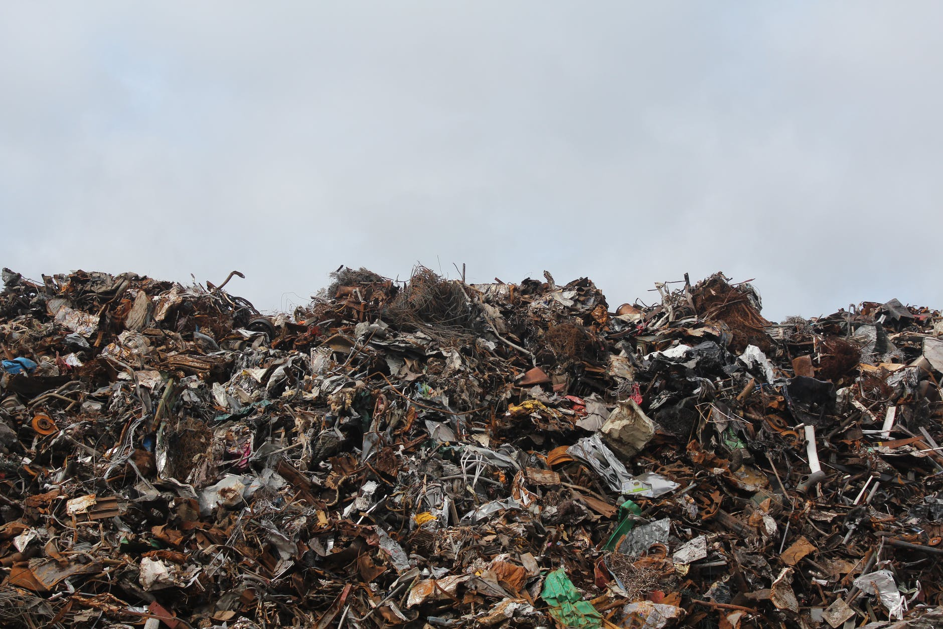 Landfill is not a sustainable method of waste management