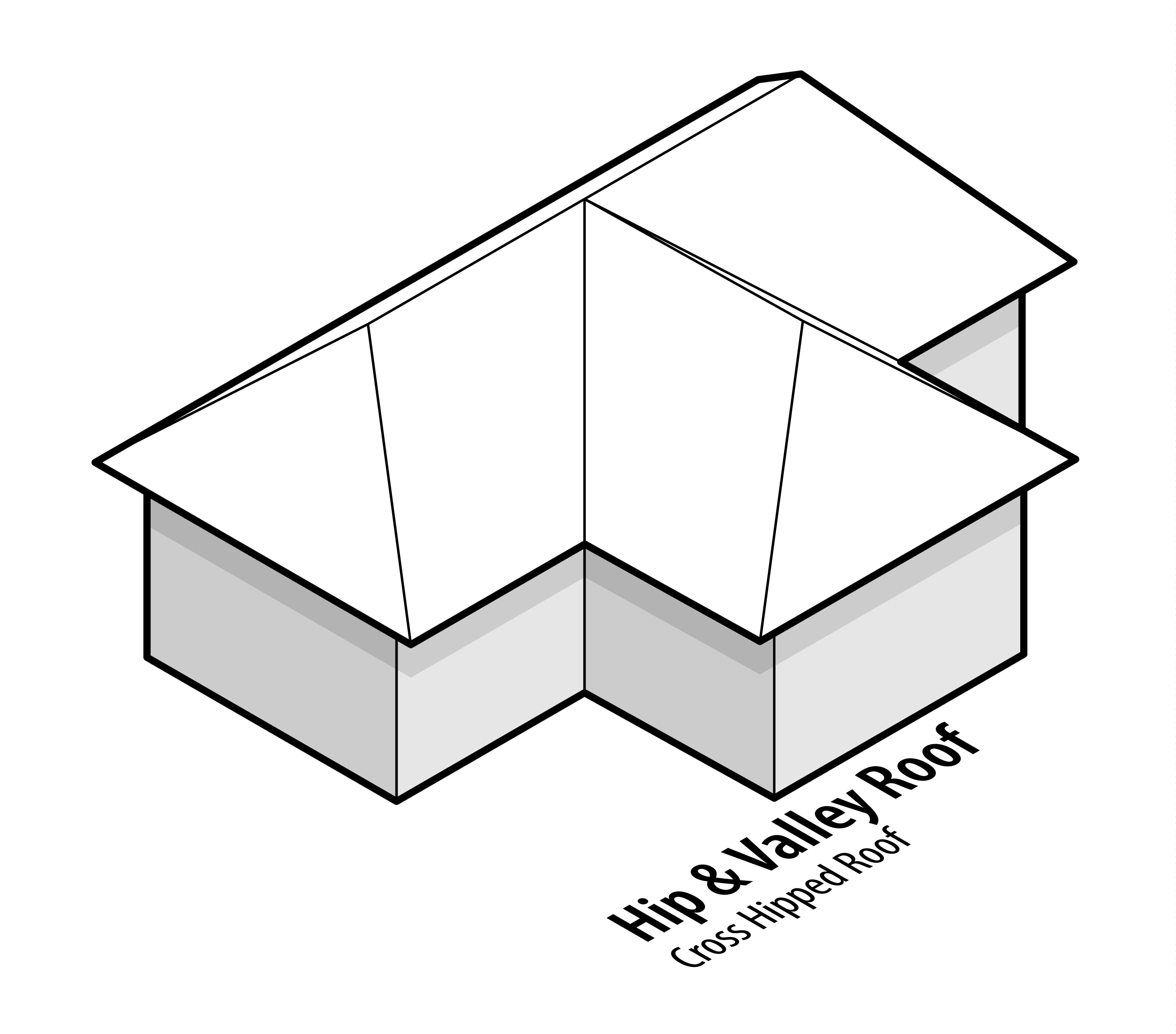 Hip And Valley Roof Design