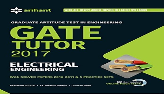 Buy This Book Now At Amazon - GATE Tutor 2017 Electrical Engineering
