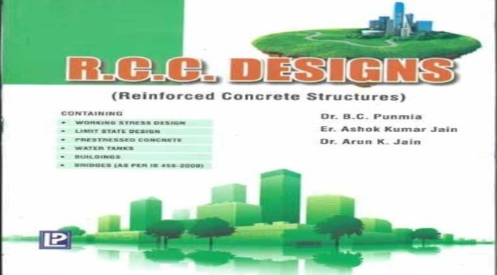 R.C.C. Designs By B.C. Punmia