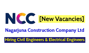 Nagarjuna Construction Company Jobs - Hiring Civil Engineers & Electrical Engineers [New Vacancies]