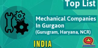 List Of Mechanical Companies In Gurgaon (Gurugram, Haryana, NCR)