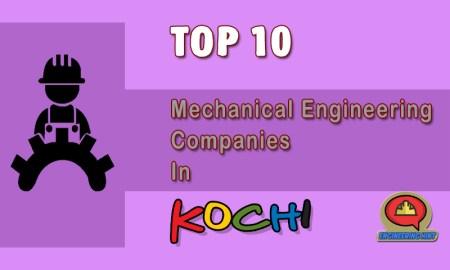 List Of Top Mechanical Engineering Companies In Kochi (Kerala)