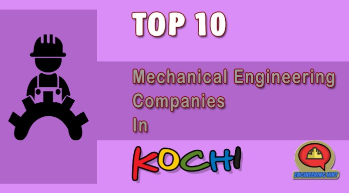 List Of Top Mechanical Engineering Companies In Kochi (Kerala)