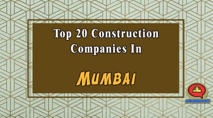 Top 20 Construction Companies In Mumbai