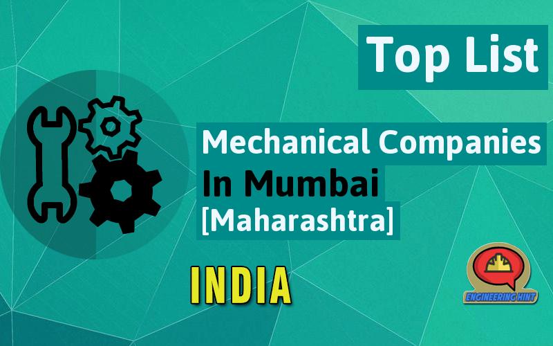 List Of Mechanical Companies In Mumbai Maharashtra India Engineering Hint