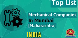 List Of Mechanical Companies In Mumbai [Maharashtra, India]