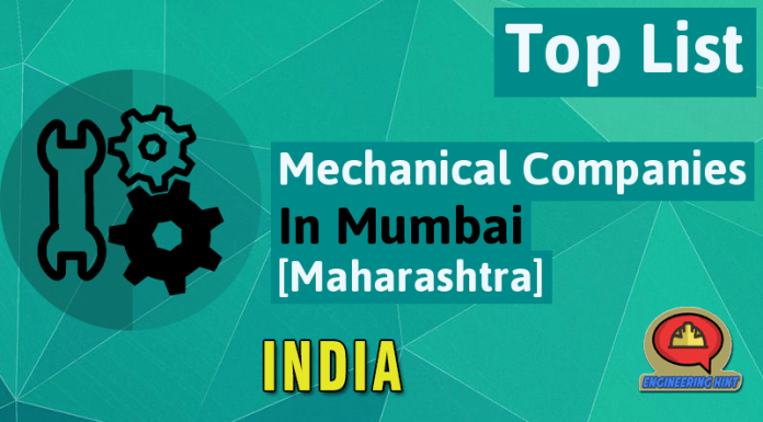 List Of Mechanical Companies In Mumbai [Maharashtra, India]