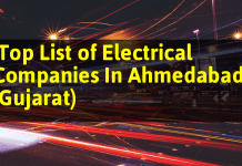 Top List of Electrical Companies In Ahmedabad (Gujarat)