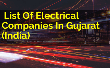 List Of Electrical Companies In Gujarat (India)