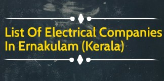 List Of Electrical Companies In Ernakulam (Kerala)