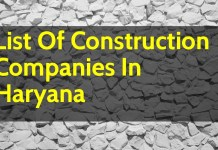 List Of Construction Companies In Haryana