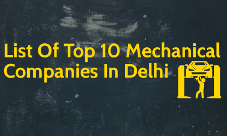 List Of Top 10 Mechanical Companies In Delhi