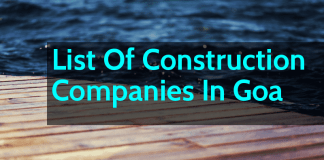 List Of Construction Companies In Goa