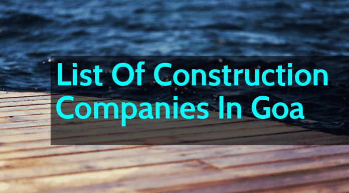 List Of Construction Companies In Goa - Engineering Hint