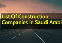 List Of Construction Companies In Saudi Arabia